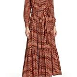 La DoubleJ Bellini Print Poplin Maxi Dress