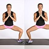 Move 1: Sumo Squat With Calf Raises