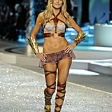 In November 2008, Heidi Klum walked the runway at the Victoria's Secret show.