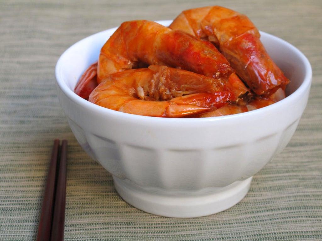 Garlic Soy Shrimp