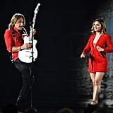 Keith Urban and Julia Michaels.
