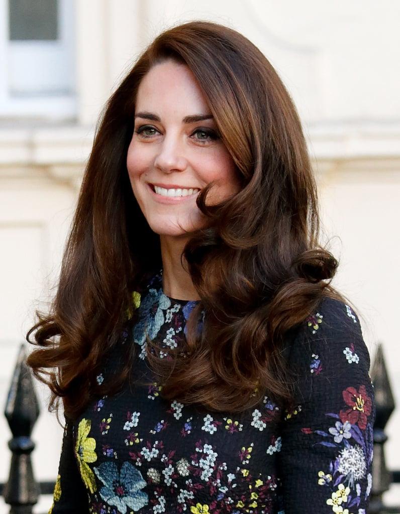 Kate Middleton's Voluminous Blowout, 2017