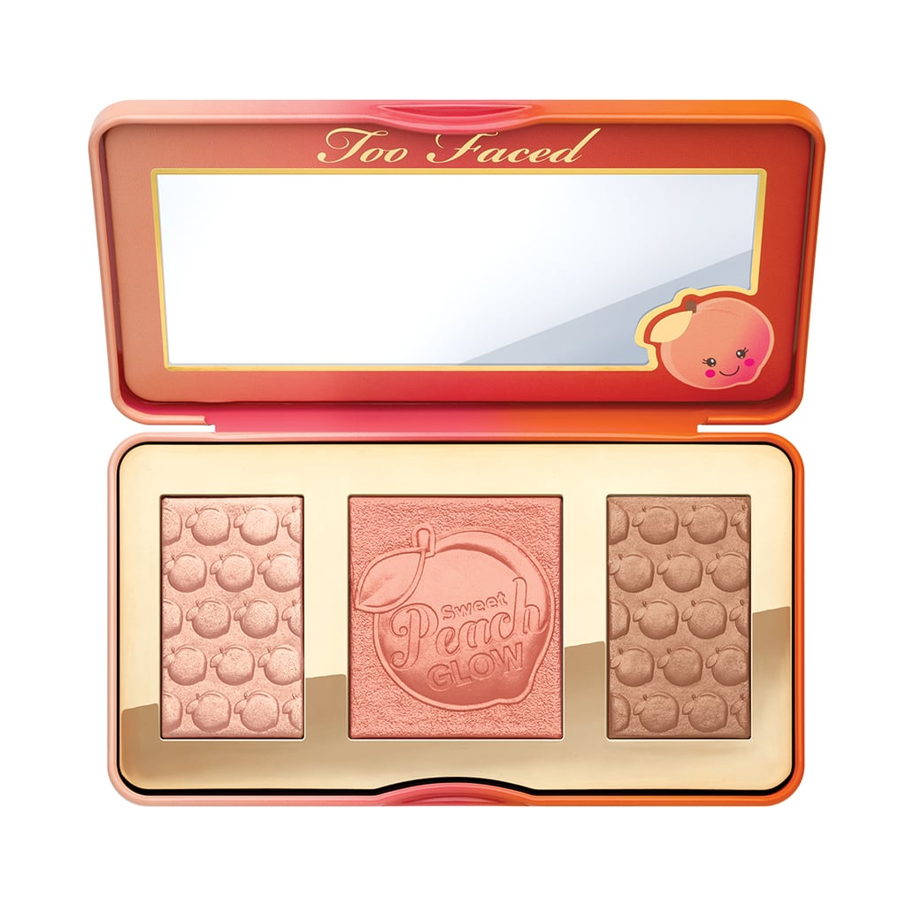 Everyone will look good in the peachy-gold hues of the Too Faced Sweet Peach Glow Peach-Infused Highlighting Palette ($52). Use the bronzer to sculpt your face, the blush to perk up your complexion, and apply the highlighter to the high points of your face.