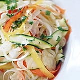 Ribboned Vegetable Salad