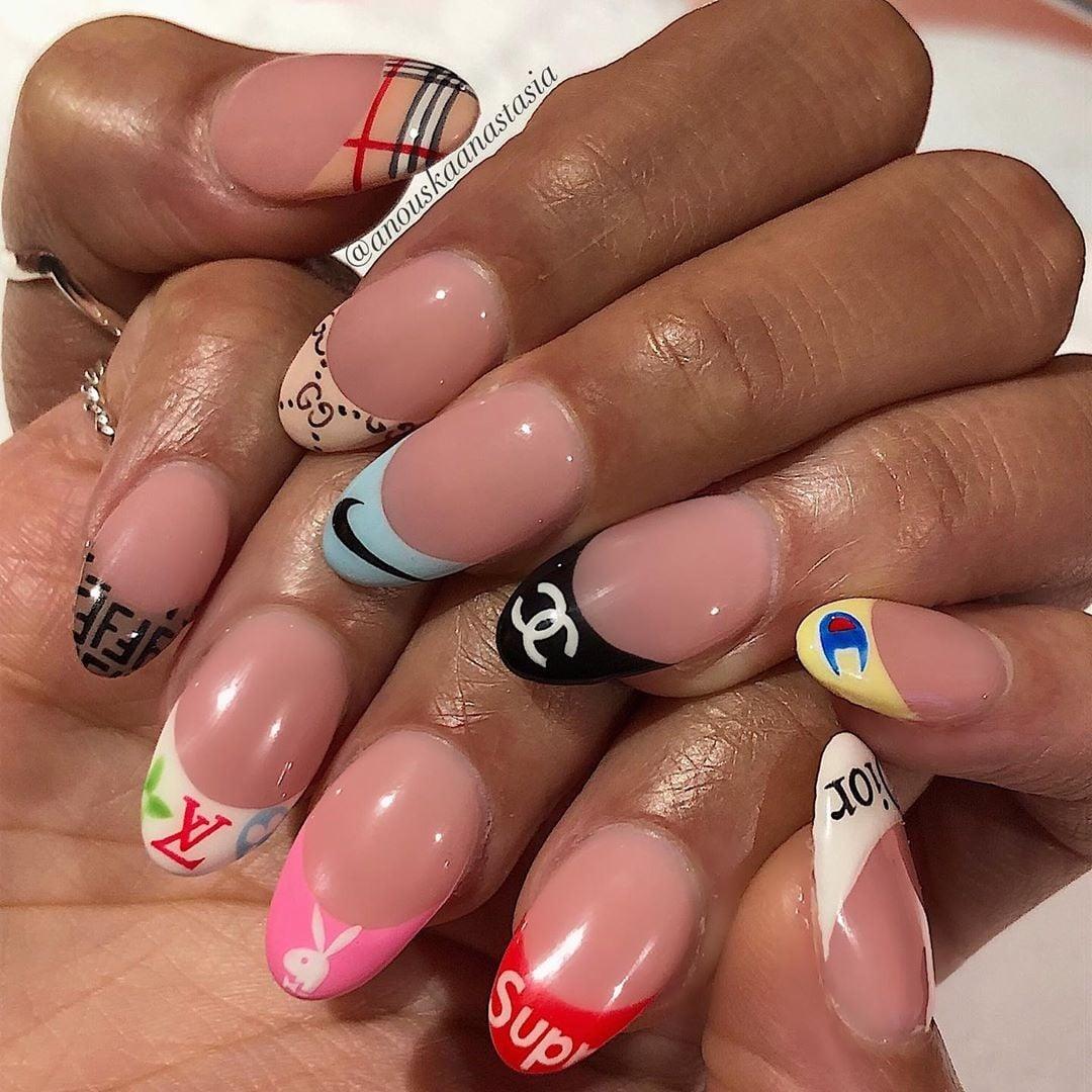 Арт-мода для ногтей