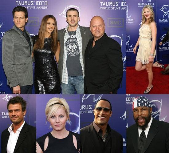 Fantastic 4, Indy, Ricky Bobby Enjoy Stunt Awards