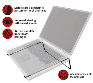 Linea Laptop Stand: Simple And Ergonomic
