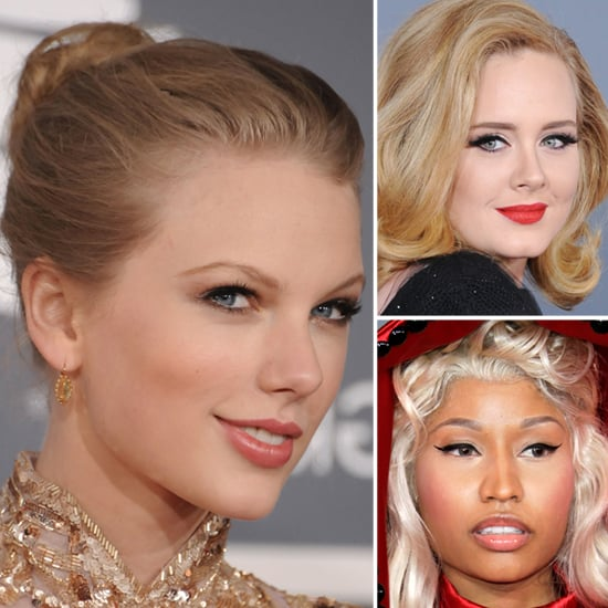 2012 Grammys: All the Gorgeous Makeup Looks Up Close