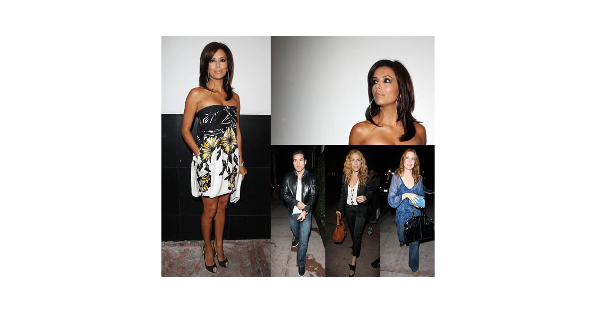 Eva Longoria Celebrates Her 33rd Birthday Party at Her ...