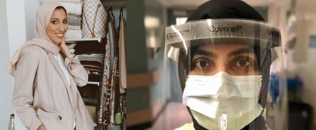 علامة هوت حجاب تتبرع بحجابات رأس للمسلمات من الكوادر الطبية