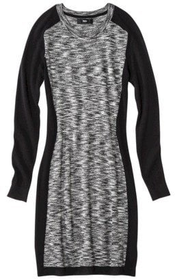 Trust us, the paneling on this Mossimo utrasoft marl sweater dress ($35) was made to flatter your curves.