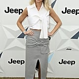 Whitney Port at the Portsea Polo event in Melbourne.