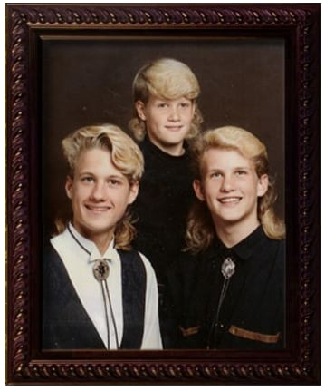 Flock of Seagulls Mullets