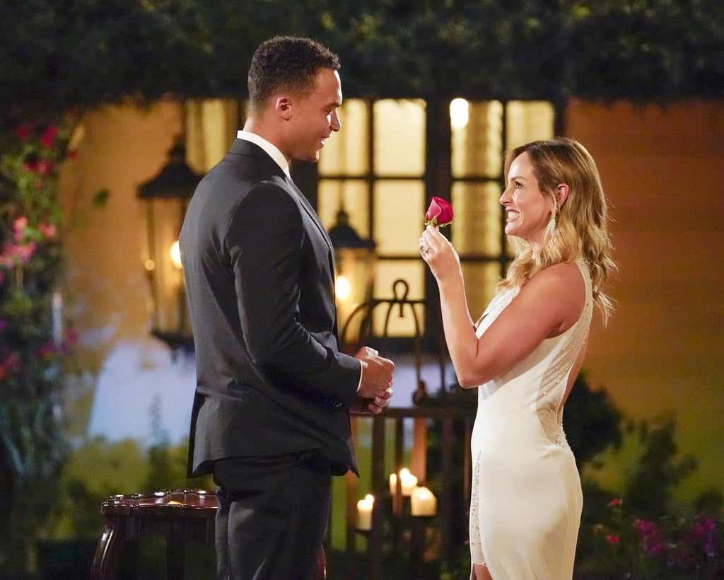 Clare and Dale Celebrating Their Engagement on The Bachelorette