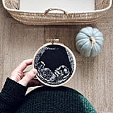 Embroidered Ultrasound Photo