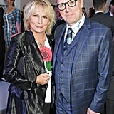 Jennifer Saunders and Ade Edmondson