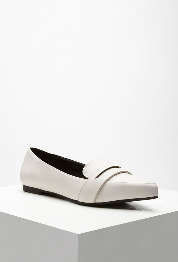 Forever 21 Leather Flats ($23)