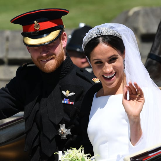 Meghan Markle Spots Old Drama Teacher at Royal Wedding 2018