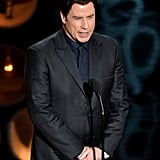 "John Travolta stunned everyone when he introduced Idina Menzel as ""Adele Dazeem."""