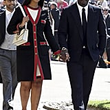 Sabrina Dhowre and Idris Elba