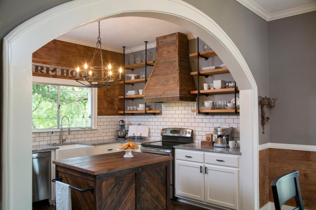 Best Fixer Upper Kitchen Makeovers POPSUGAR Home