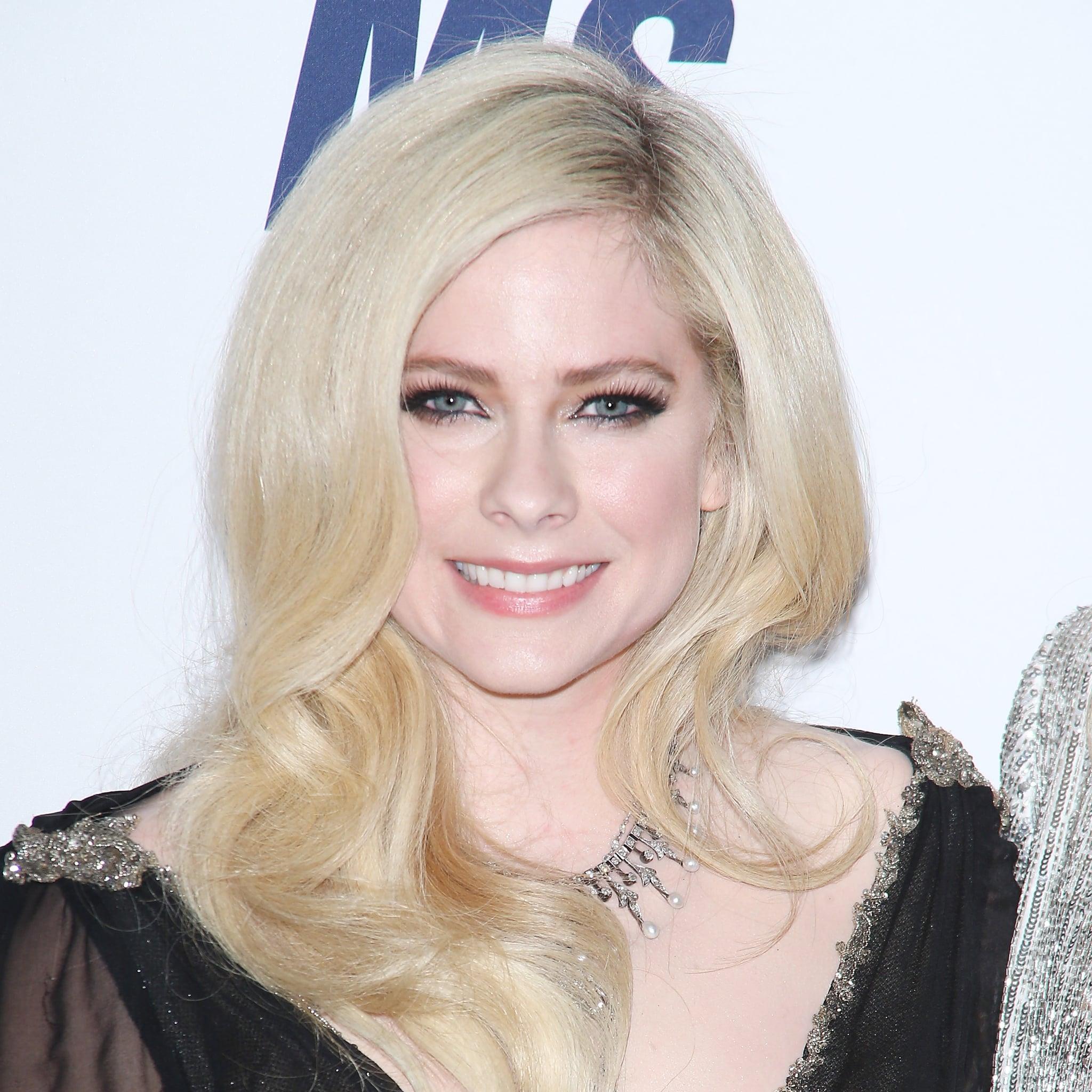 Avril Lavigne Popsugar Celebrity