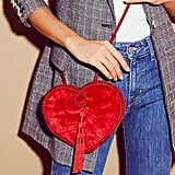 Free People Lovestruck Velvet Crossbody