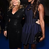 With Lorraine Pascale.