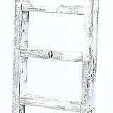 4-Ft. Rustic Reclaimed Barnwood Ladder ($50)