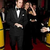 Prince Harry and Prince William were both in attendance at a London party with Kate Middleton.