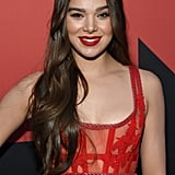 Hailee Steinfeld's Long Cascading Waves
