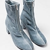 H&M Sock Boots Turquoise