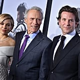 Sienna Miller, Clint Eastwood, and Bradley Cooper joked around at the premiere of American Sniper in New York.