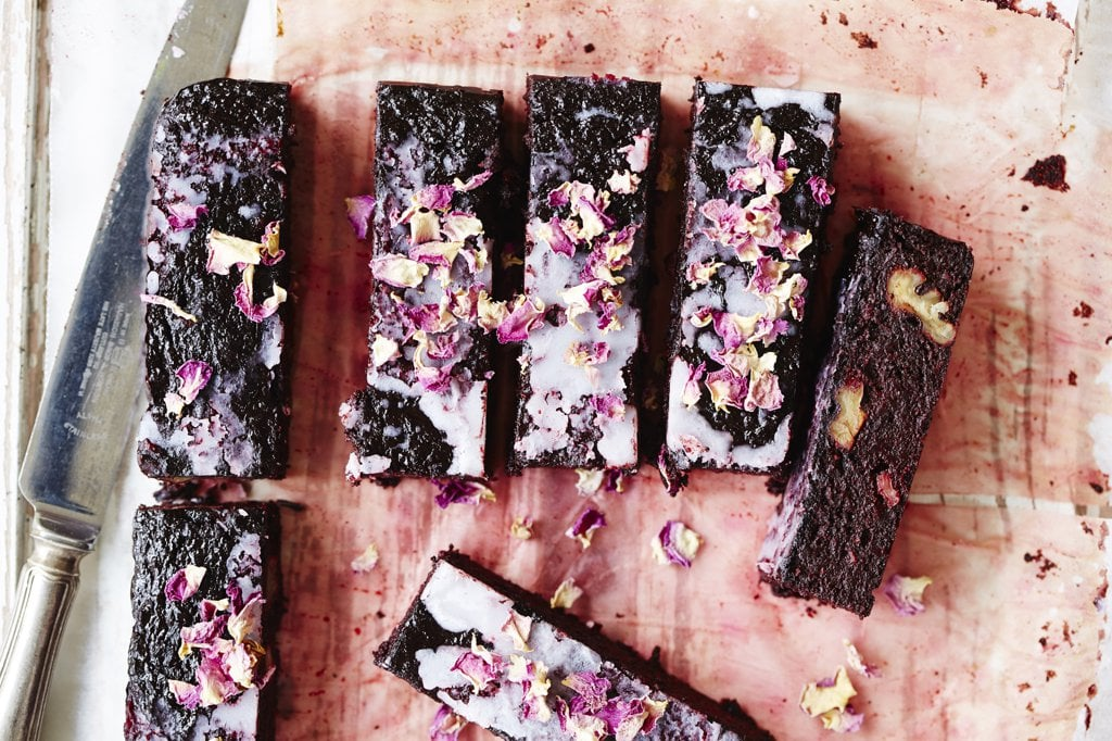 Heart Beet Brownies