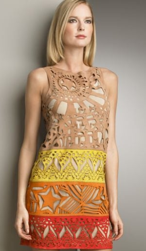 Emilio Pucci Laser-Cut Shift Dress Love It or Hate It