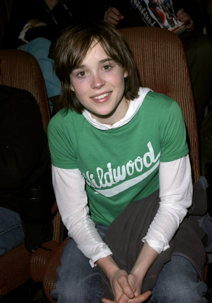 Ellen Page at the Sundance Film Festival in 2005