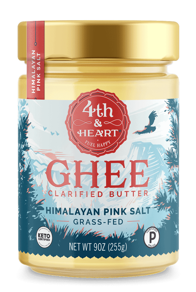 Fourth and Heart Himalayan Pink Salt Ghee