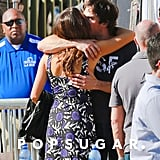 Ian embraced Nikki outside of the 2014 Teen Choice Awards in August.