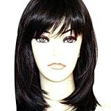 Kalyss Long Straight Layers Black Wig