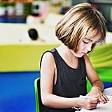 Age 6: Support school expectations, but don't complete anything for your child.