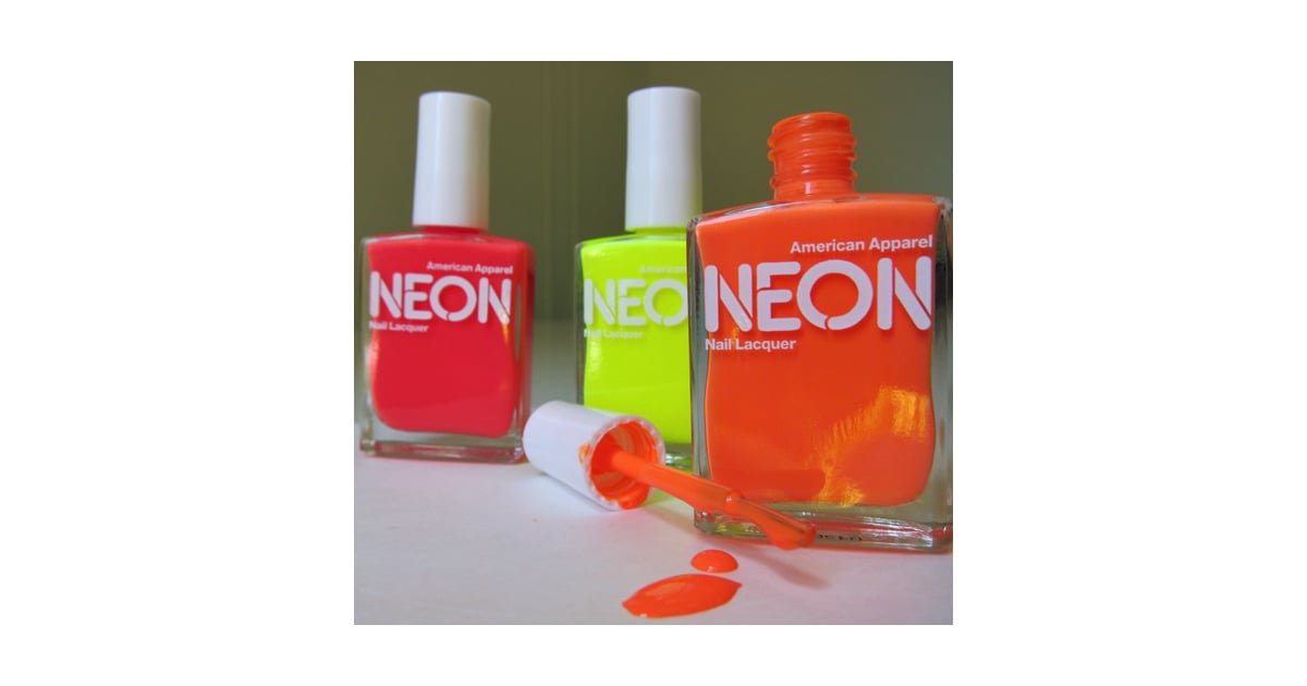 Would You Wear This New Neon Nail Polish?