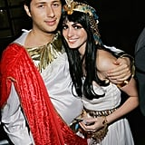 Anne Hathaway and Raffaello Follieri as Greeks