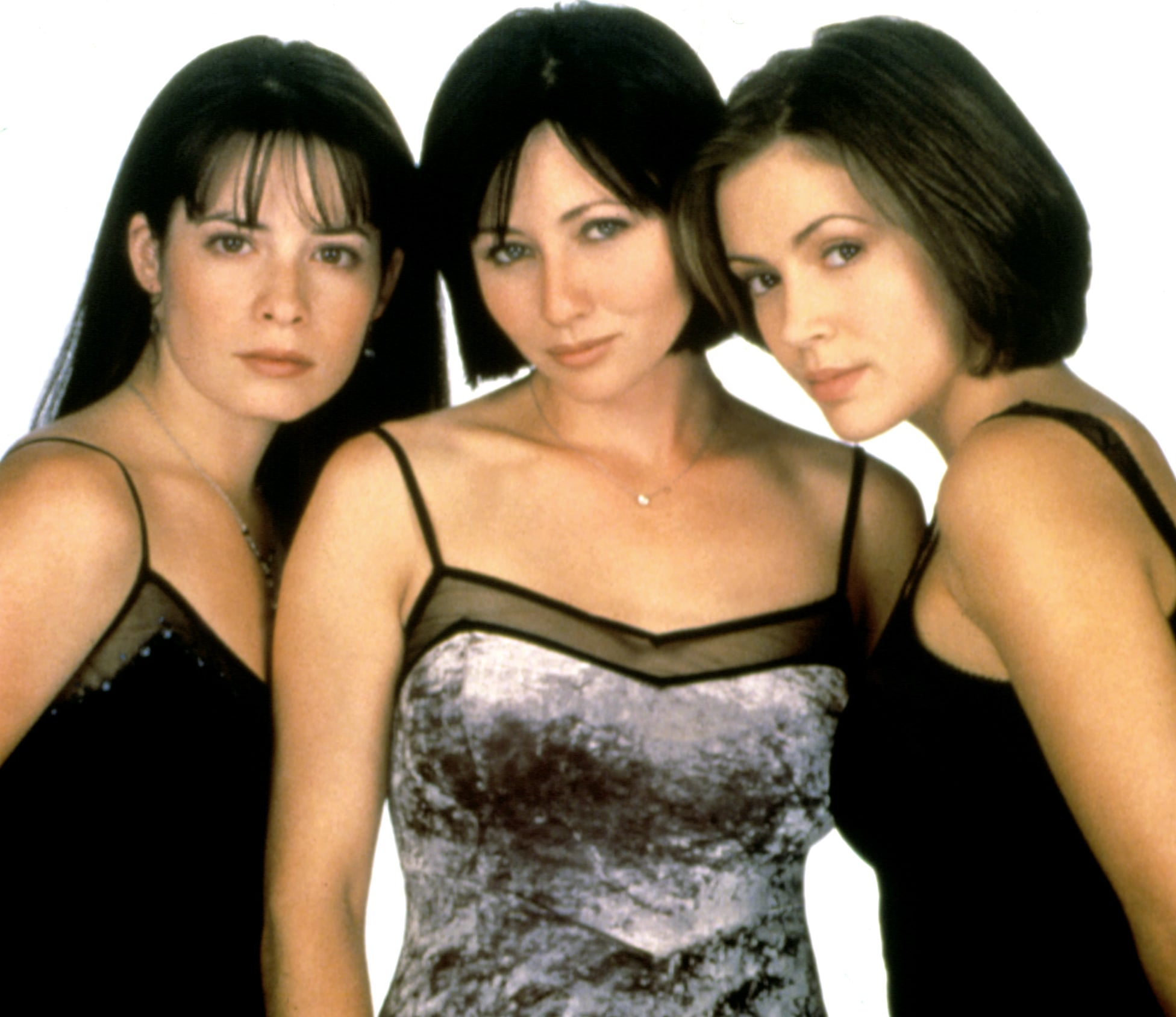 CHARMED, Holly Marie Combs, Shannen Doherty, Alyssa Milano, 1998--2006, photo:  Viacom / courtesy Everett Collection