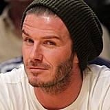David Beckham watched the Lakers.