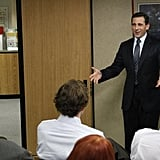 Michael Scott, The Office Job: regional sales manager Median annual salary: $105,290 Michael may make a bit less in Scranton, PA, but he can still afford a few more Sandals vacations than the average person.