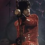 Performing in 2008.