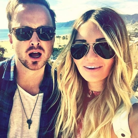 Aaron Paul's Surprise For His Wife's Birthday 2016