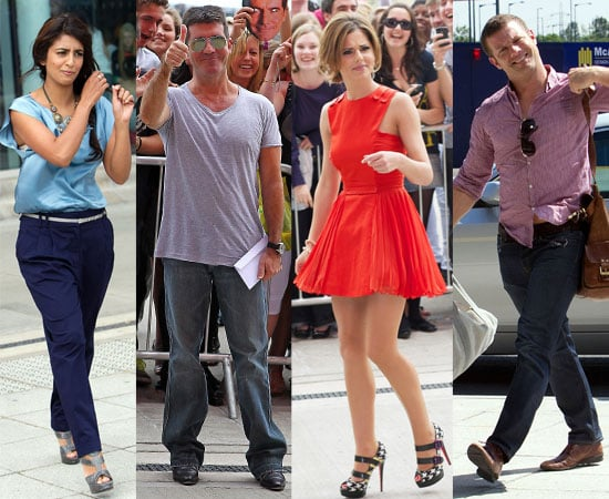 Pictures of X Factor Auditions 2010 Including Cheryl Cole, Simon Cowell, Louis Walsh, Dermot O'Leary, Konnie Huq