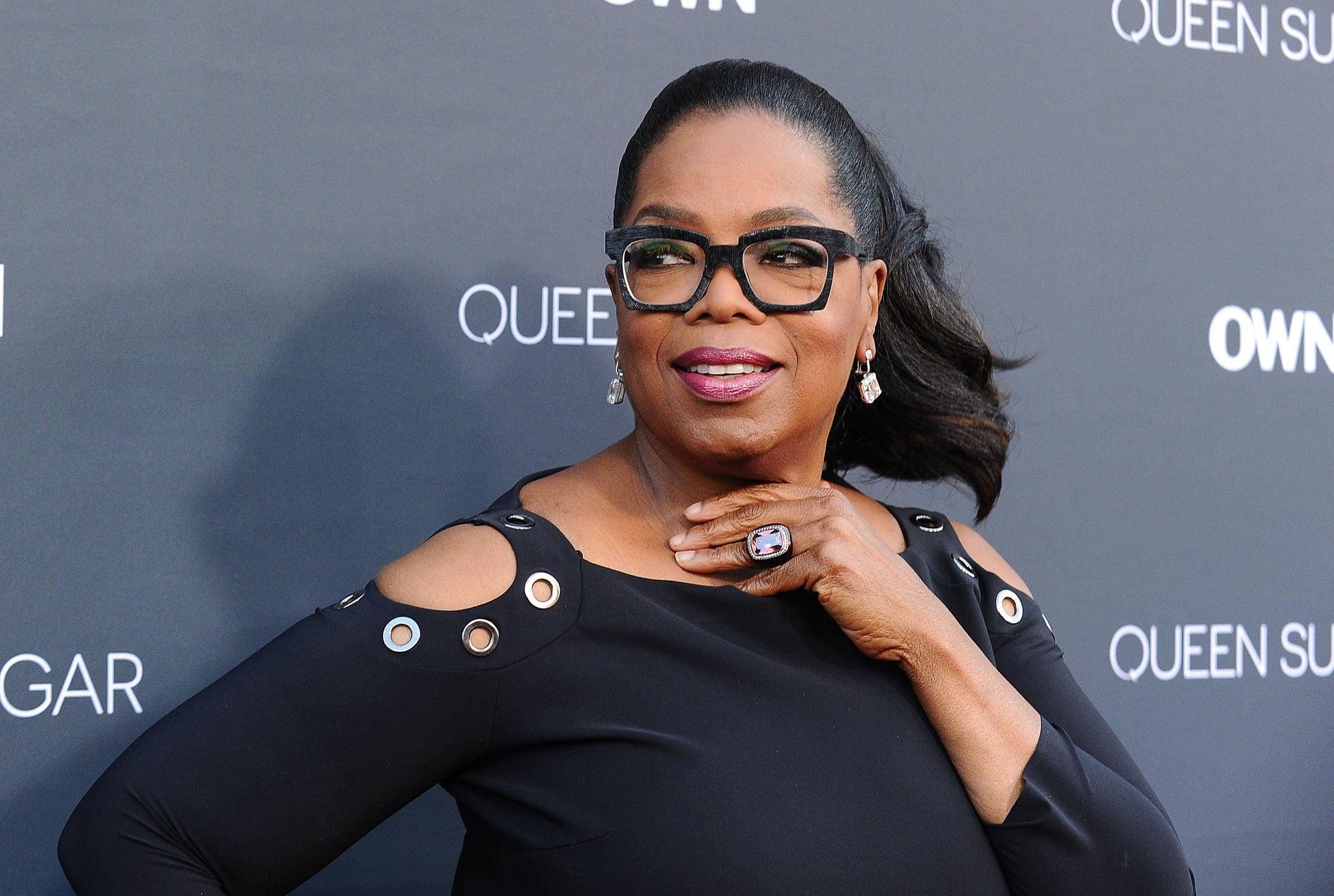 BURBANK, CA - AUGUST 29:  Oprah Winfrey attends the premiere of