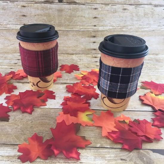 Flannel Coffee Koozies